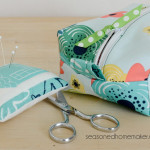 DIY Zippered Box Pouch Tutorial
