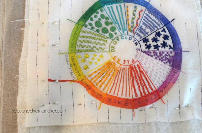 hand quilting sampler