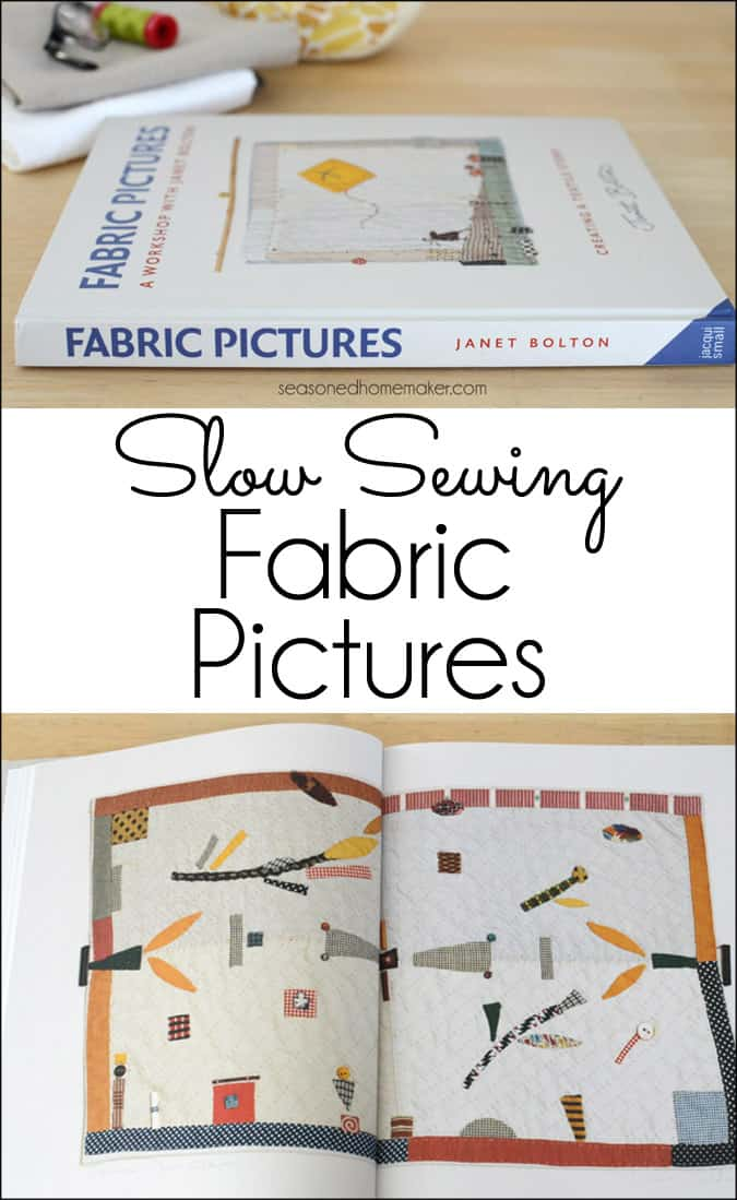 Learn how to create beautiful hand sewing pictures on fabric. Look for inspiration all around you and turn your creativity into a textile project that shares your particular voice. This is more than quilting - it's creating art with fabric.