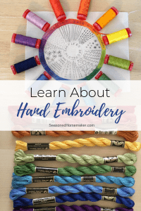Learn How to Hand Embroidee
