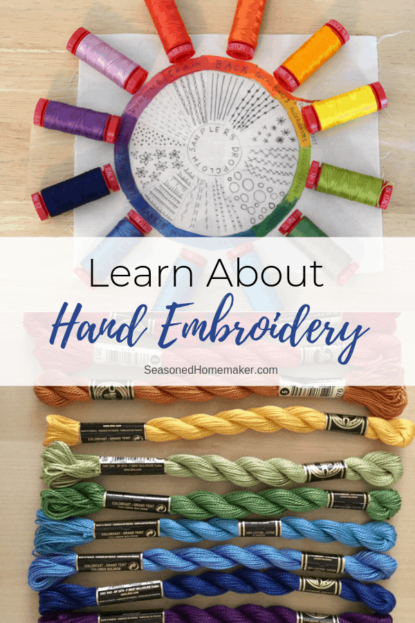Learn About Hand Embroidery Pin