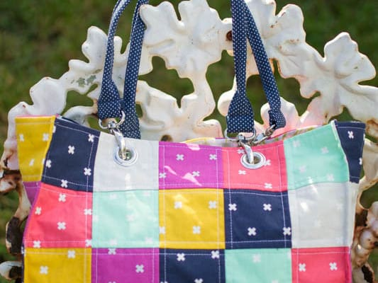 Friday Feature: Speedy Patchwork Tote