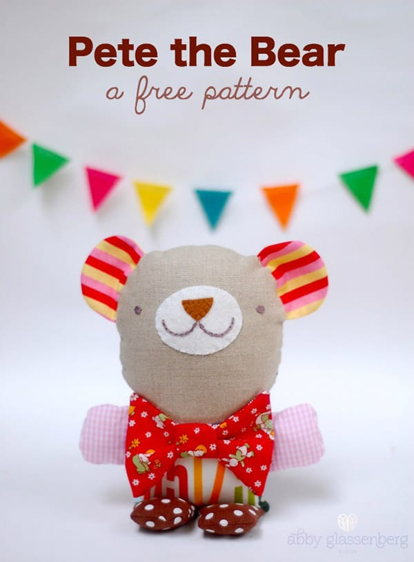 The Cutest Free Stuffed Animal Patterns Unique Stuffed Animal Patterns