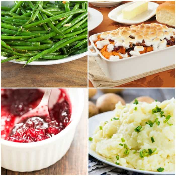 Simplified Thanksgiving Side Dishes