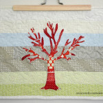 Want a way to use of up those sewing scraps. Applique is an excellent way to embellish a modern quilt. It's ideal for all sorts of sewing projects. If you can sew a straight stitch then you can make The Red Tree Quilt. The quilt is fast, easy, and can be completed in an afternoon. sewing | quilting | appliqué