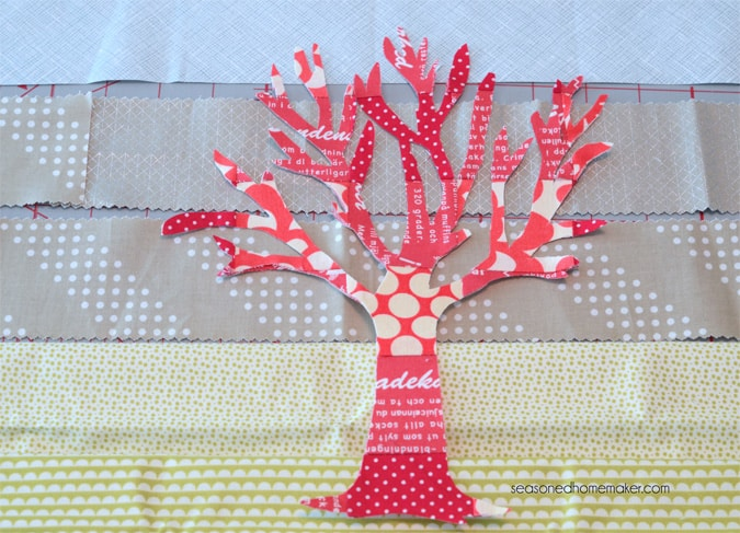 Want a way to use of up those sewing scraps. Applique is an excellent way to embellish a modern quilt. It's ideal for all sorts of sewing projects. If you can sew a straight stitch then you can make The Red Tree Quilt. The quilt is fast, easy, and can be completed in an afternoon.