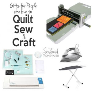The perfect Christmas gift for a Crafty Homemaker who loves to sew, craft, and cook but doesn't have a ton of time.