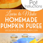 Learn how to make your own organic pumpkin puree for Thanksgiving pies and desserts. Never go back to using canned pumpkin again! Follow these simple steps tutorial for making and freezing your own pumpkin puree using regular pumpkins.