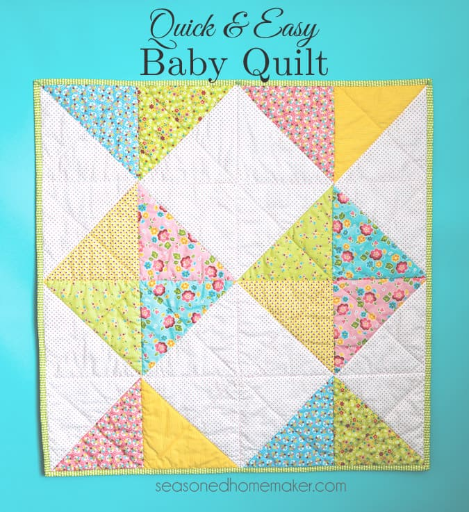 A Simple Baby Quilt That Anyone Can Make Extraordinary Easy Baby Quilt Patterns