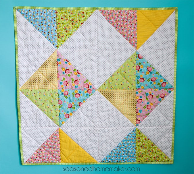 A Simple Baby Quilt That Anyone Can Make New Baby Quilt Patterns