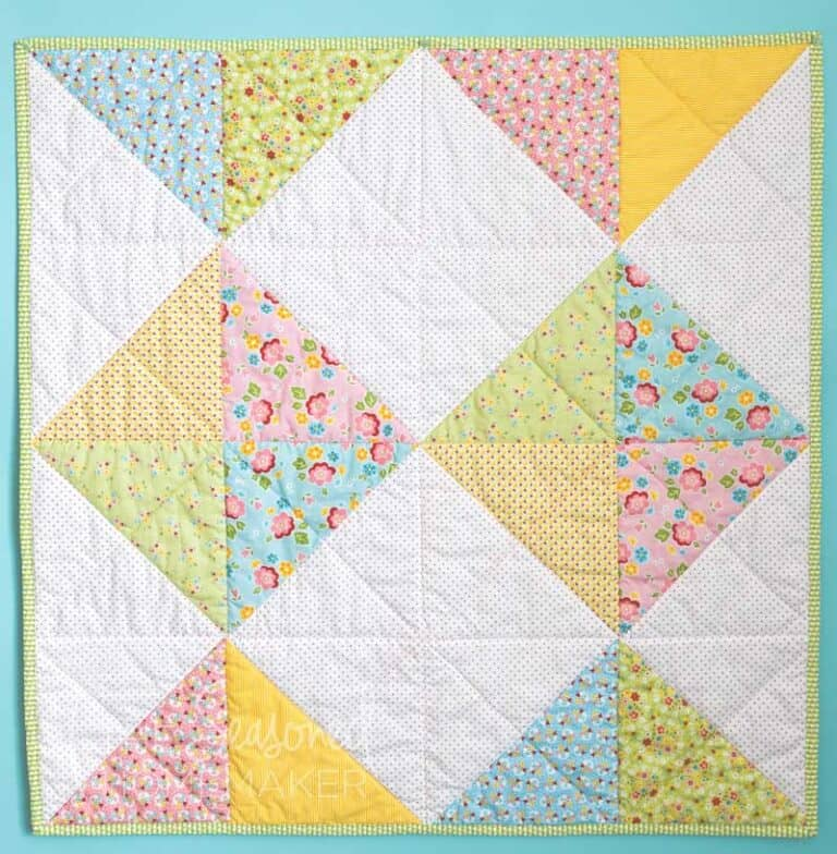 How to Make a Simple Baby Quilt