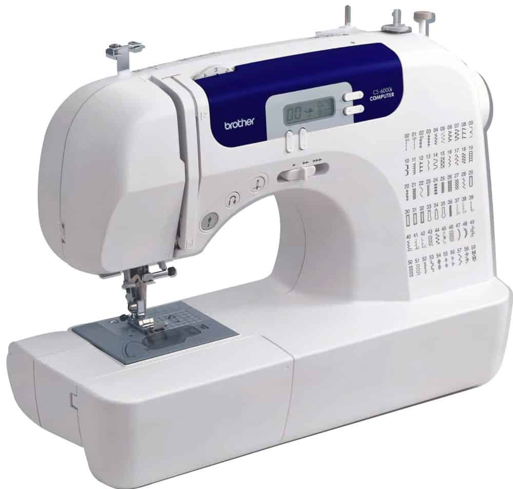 The Brother CS6000i is one of the best sewing machines for beginners.