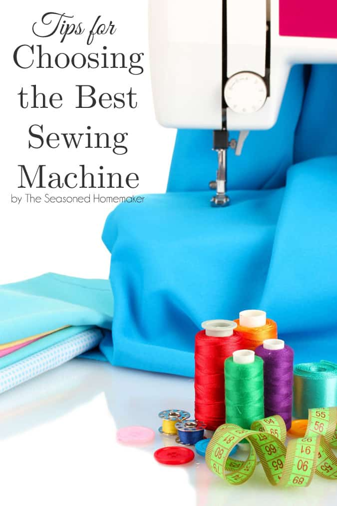 There are several important things when you are buying a sewing machine. Follow these Tips for Buying a Sewing Machine and get your perfect machine!