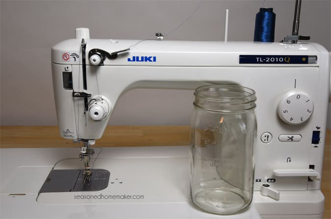 Review Of My New Juki TL40Q The Seasoned Homemaker Inspiration Quilting Frame For Domestic Sewing Machine