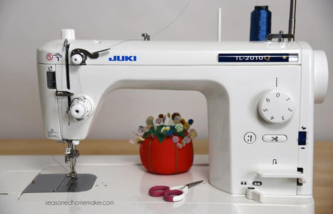 Review Of My New Juki TL40Q The Seasoned Homemaker Unique Juki Sewing Machine Stitch Regulator
