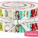 Do you struggle with finding time to sew? Does it seem like time slips away before you can even begin a project. This Jelly Roll of fabric is perfect because it takes the guesswork out of cutting. Get started on your project right away.