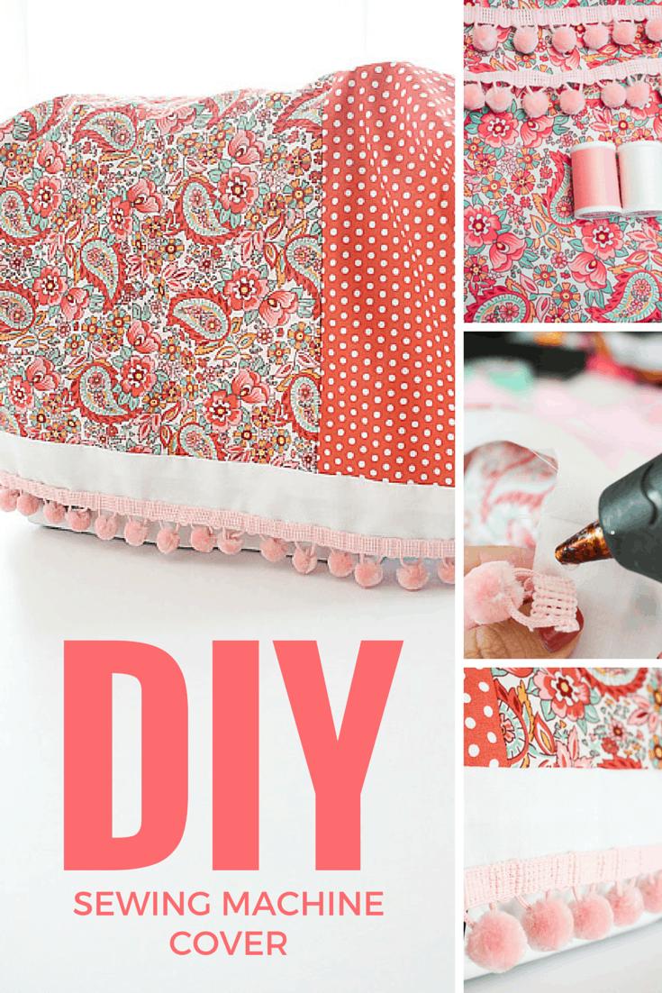 make a sewing machine cover