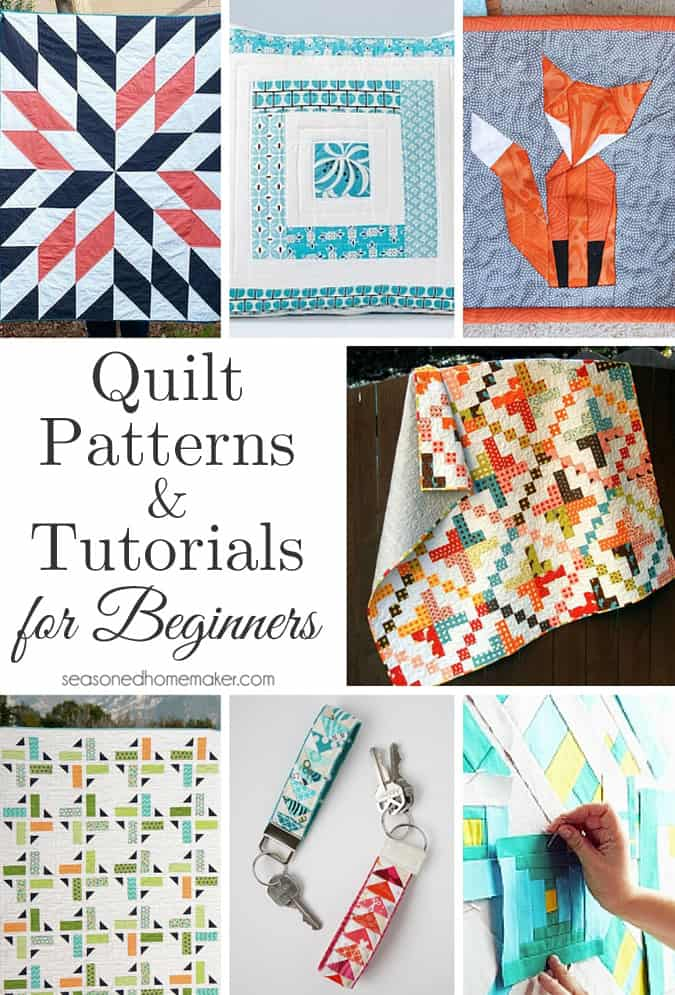 Quilting Patterns For Beginners : Quilt Patterns and Tutorials for Beginners
