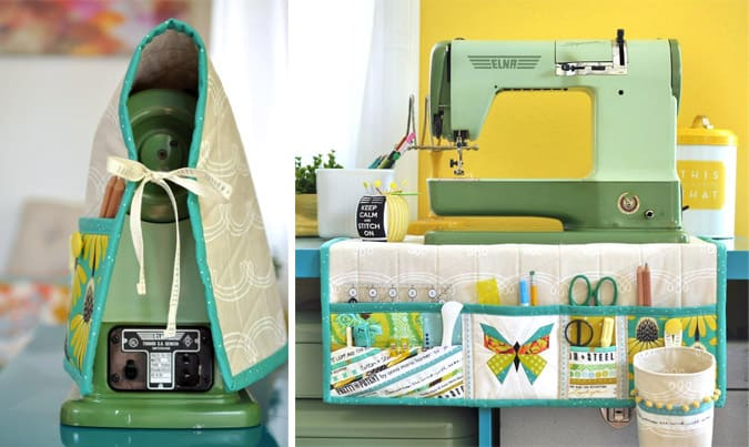 make sewing machine cover