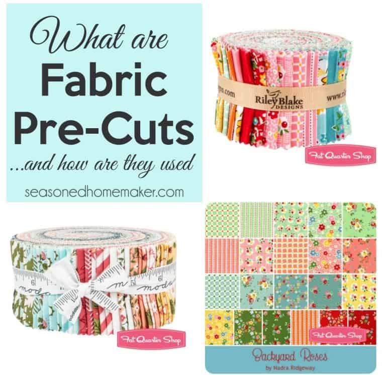All About Fabric Pre-Cuts