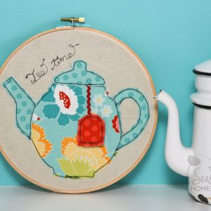Tea Time Appliqué Set
