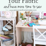 If you love sewing then you probably have a fabric stash and tons of fabric scraps. Keeping them organized can be a huge challenge for most sewists. I have a storage solution that will keep your fabric, pre-cuts, and scraps organized and easy to access.
