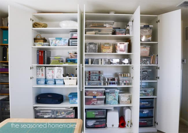 If you love sewing then you probably have a fabric stash and tons of fabric scraps. Keeping them organized can be a huge challenge for most sewists. I have a storage solution that will keep your fabric, pre-cuts, and scraps organized and easy to access. Learn how to fold, organize, and store your fabric stash.