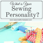 I adore all things DIY, Crafty, and sewing, but I struggle with organizing my sewing and crafting room. Who knew I had a Sewing Personality and understanding it could help me get a handle on sewing organization. Learn a few tweaks that will turn your sewing room storage issues around.