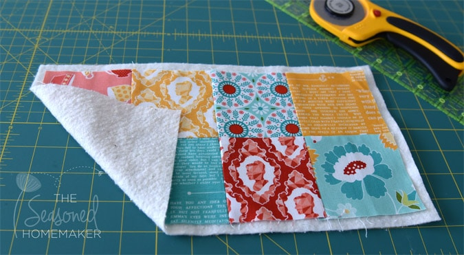 Quilt As You Go Tutorial The Easiest Way To Machine Quilt