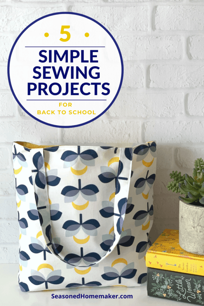 Simple Back-to-School Sewing Projects