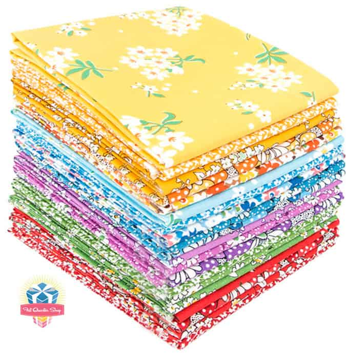 Fabric pre-cuts make sewing quilts and other crafts a snap. My favorite is a Fat Quarter Bundle which has so many uses. Find out how you can win this Feedsack Fat Quarter Bundle by Whistler Studios for Wyndham Fabrics.