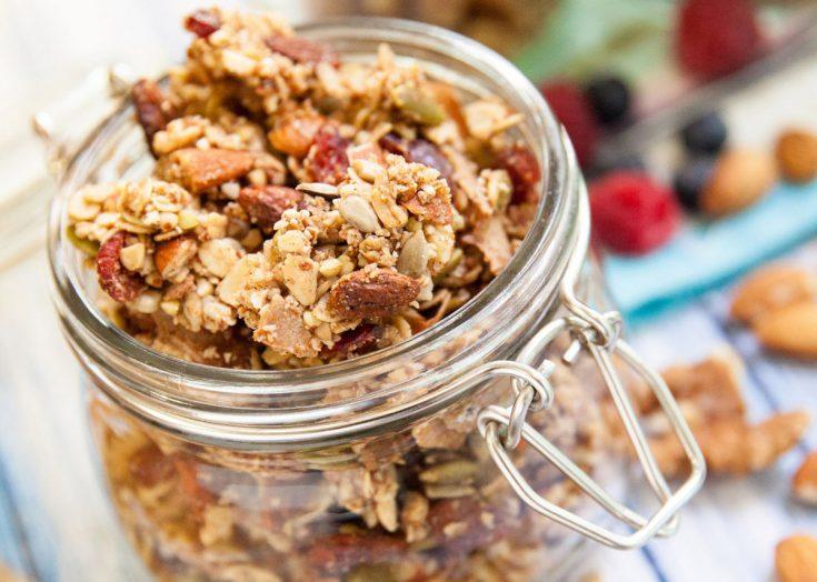 Gluten-Free Slow Cooker Granola