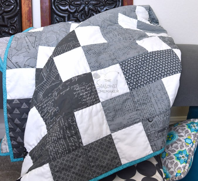 The Perfect Quilt Pattern for People with Limited Time to Sew