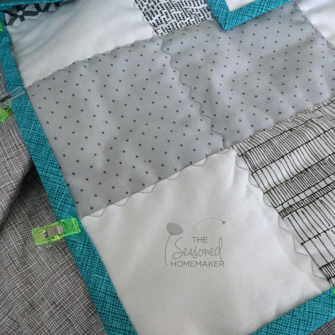 If you're someone who loves to sew but has limited time and space, then I have a solution. Pre-cuts and a super easy quilt pattern equals a finished quilt. Find out the secret to making a quilt even if time and space are in short supply.