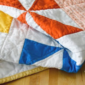 The Quilt As You Go Method #1