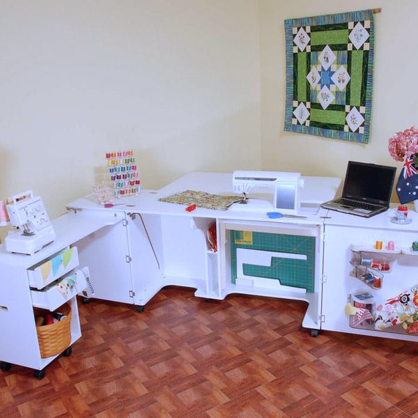 Sewing Cabinet for a Dedicated Sewing Room. Ideal for Quilters.