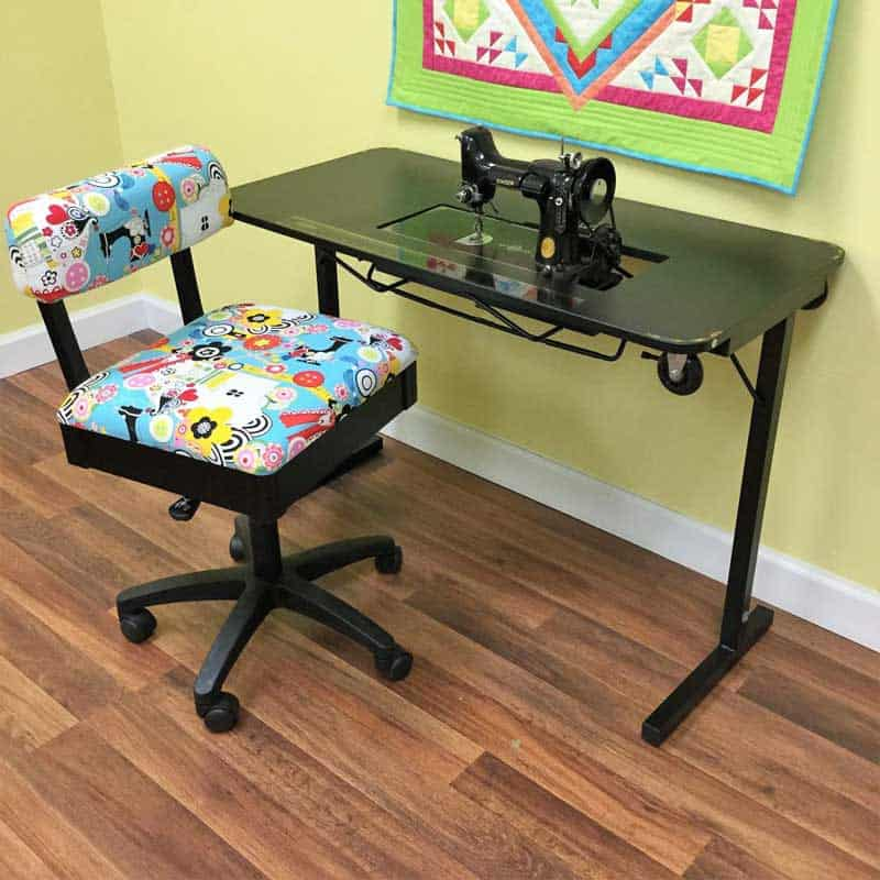 Sewing Table for Singer Featherweight Sewing Machine