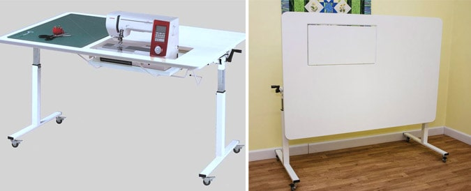 Easy-to-Store Sewing Table