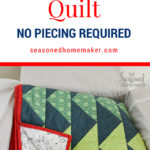 Quick & Easy Quilt: No Piecing Required Pin