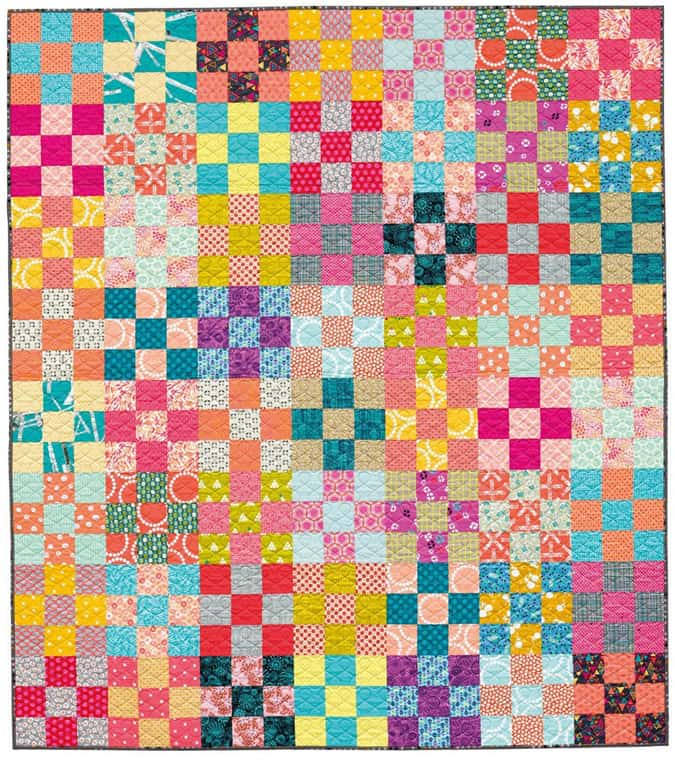 The Nine-Patch quilt block is one of the best blocks to start with if you're a beginning quilter. The 9-patch block changes when paired with other blocks.