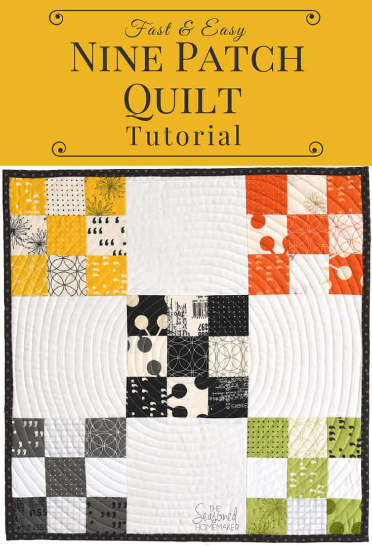 The Nine-Patch quilt block is one of the best blocks to start with if you're a beginning quilter. It is one of the most recognized quilt blocks in the quilting world. In spite of its simplicity, the 9-patch quilt block has the ability to be changed dozens of different ways when paired with different blocks.