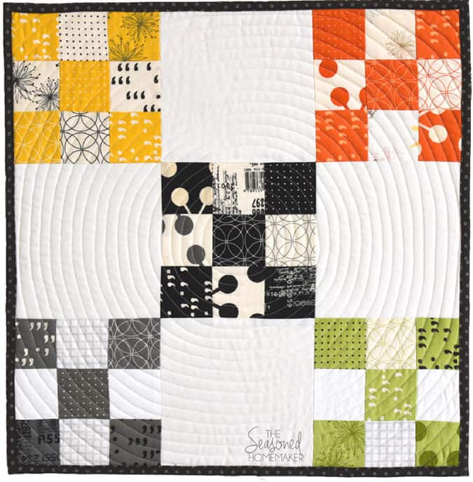 Learn How to Make a Perfect Nine Patch Quilt Block - The Seasoned ... : when did quilting begin - Adamdwight.com