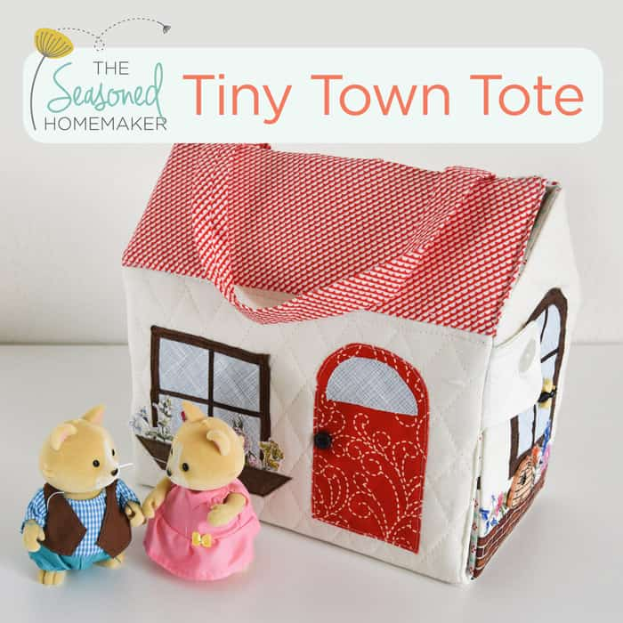 The Tiny Town Tote PDF Pattern