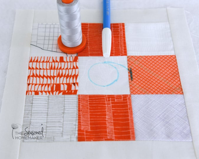 Spiral Quilting with a Walking Foot - The Seasoned Homemaker : quilting with a walking foot - Adamdwight.com