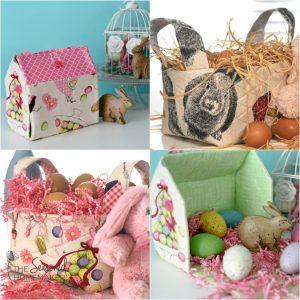 DIY Fabric Easter Basket Ideas