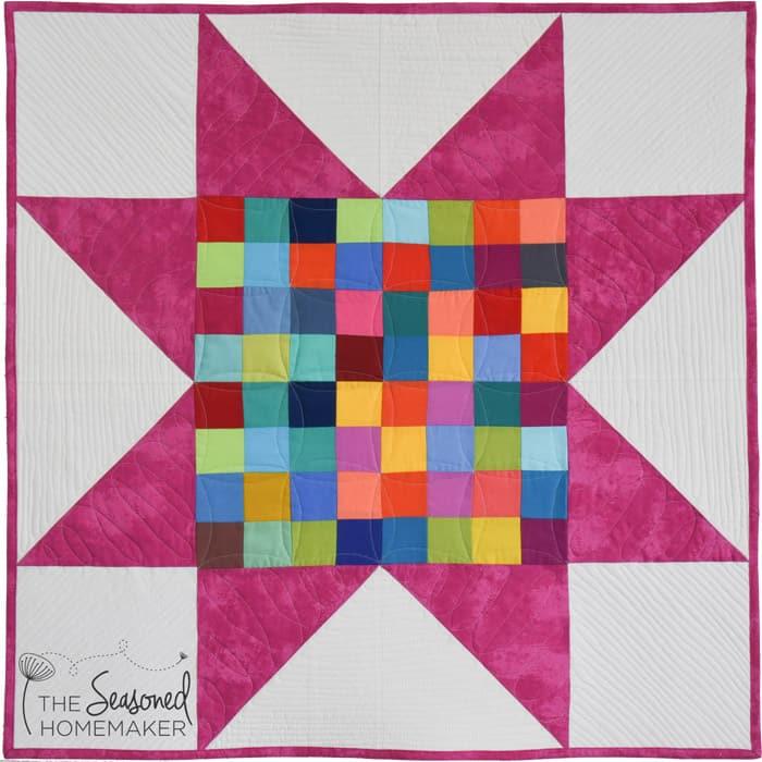 Four-Patch Beginner Quilt Block