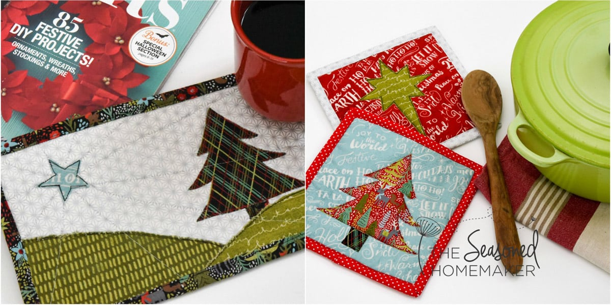 The Best Quick Easy Christmas Quilt Patterns The Seasoned Homemaker