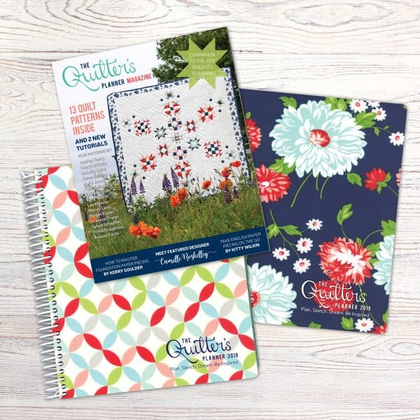 2019 Quilter's Planner