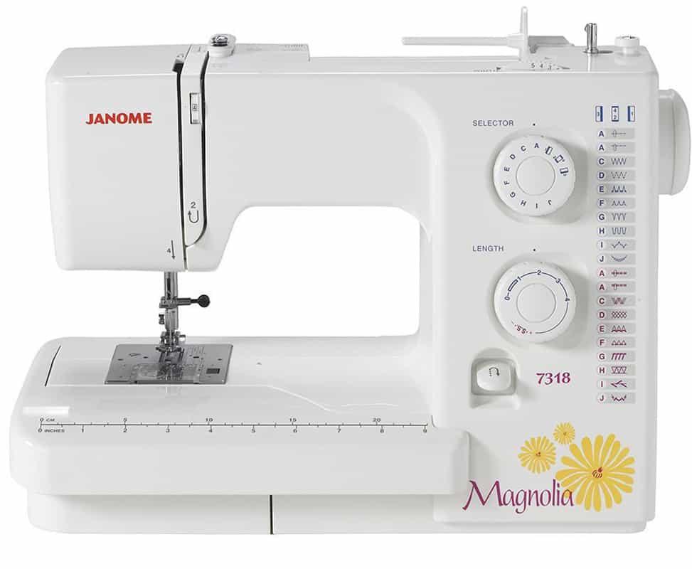 Janome Magnolia 40 The Seasoned Homemaker Mesmerizing Janome Magnolia 7318 Sewing Machine
