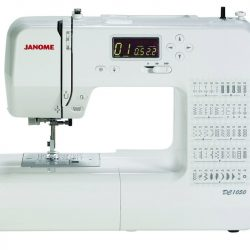 The Janome DC1050 sewing machine has all of the features you would expect to find on a high-end Janome Decor machine, allowing you to sew with precision and confidence.